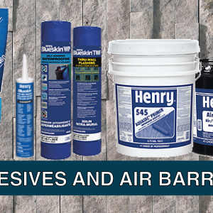 Adhesive and Air Barriers