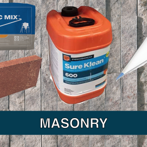 Masonry and Accessories